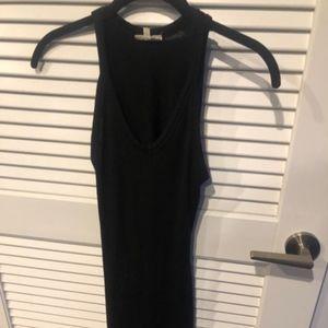 Aritzia Wilfred cut out back tank dress size xs